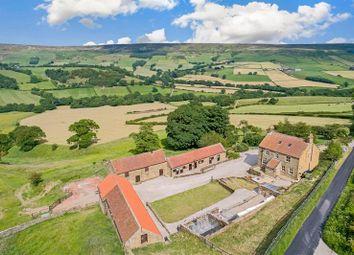 Thumbnail 5 bed farmhouse for sale in Farndale, Kirkbymoorside, York