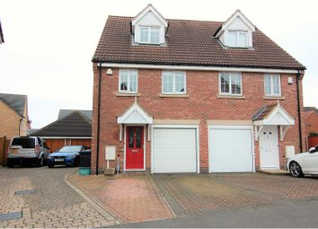 Thumbnail 3 bedroom semi-detached house for sale in Clovelly Drive, Mapperley