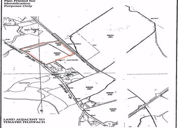Thumbnail Land for sale in & Theatre Complex, Felinfach, Lampeter, Ceredigion