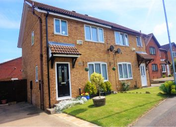Thumbnail 3 bed semi-detached house for sale in Heron Close, Wellingborough