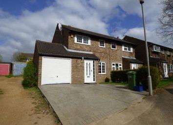 Thumbnail 3 bedroom end terrace house for sale in Oakridge, Furzton, Milton Keynes, Buckinghamshire