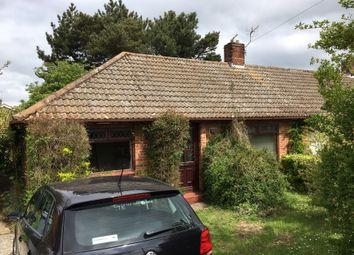 Thumbnail 2 bedroom semi-detached bungalow for sale in 65 Lowry Cole Road, Norwich, Norfolk