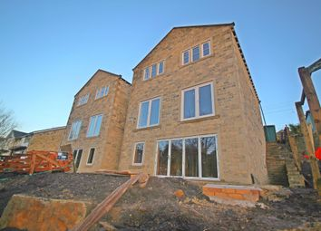 Thumbnail 4 bed detached house for sale in Liphill Bank Road, Holmfirth