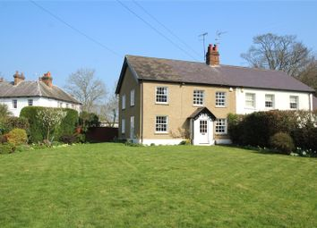 Thumbnail 4 bed semi-detached house for sale in Church Farm Cottages, Church Lane, Aldenham, Watford