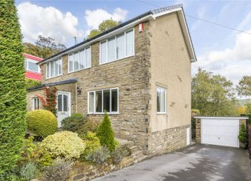 Thumbnail 4 bed detached house for sale in Gledhow Drive, Oxenhope