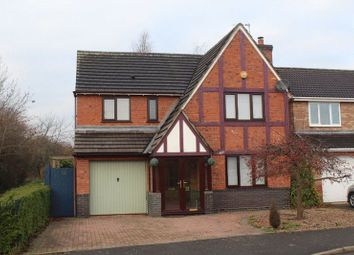 Thumbnail 4 bed detached house to rent in Fairway, Branston, Burton-On-Trent