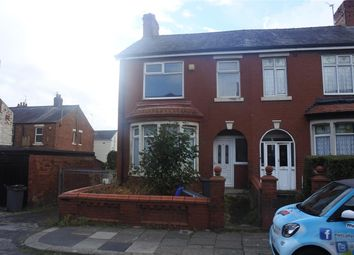 Thumbnail 3 bed end terrace house for sale in Dutton Road, Blackpool