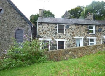 Thumbnail 2 bed end terrace house for sale in North Terrace, Pwllheli, Gwynedd