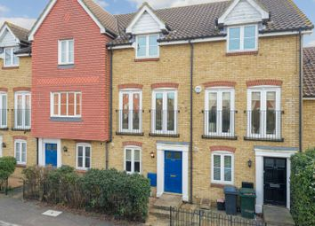 Thumbnail 3 bed town house for sale in Guernsey Way, Kennington, Ashford