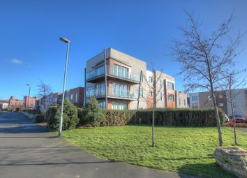 Thumbnail 2 bed flat for sale in Bewick Courtyard, Northside, Gateshead