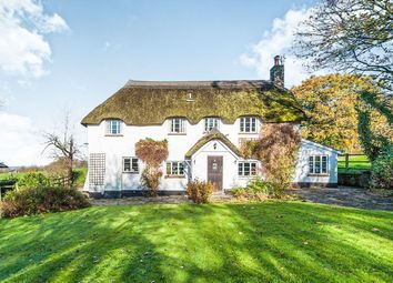 Thumbnail 3 bedroom detached house for sale in Blackborough, Cullompton