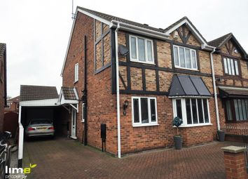 Thumbnail 4 bed semi-detached house to rent in Ashdene Close, Willerby