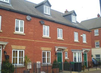 Thumbnail 4 bed terraced house to rent in Banks Drive, Sandy