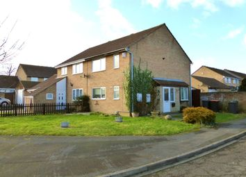 Thumbnail 3 bed semi-detached house for sale in Hindburn Close, Brickhill, Bedford