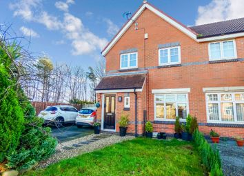 Thumbnail 3 bed semi-detached house for sale in Ingleby Way, Blyth