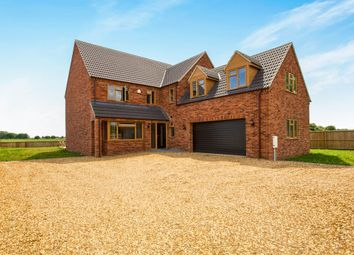 Thumbnail 4 bed detached house for sale in Mill Road, Murrow, Wisbech