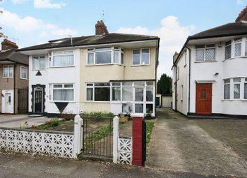 Thumbnail 3 bed semi-detached house for sale in Alderney Gardens, Northolt