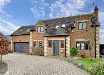 Thumbnail 5 bed detached house for sale in St. Giles Close, Holme, Peterborough, Cambridgeshire