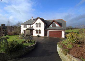 Thumbnail 4 bed detached house for sale in Llanfihangel Talyllyn, Brecon