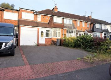 Thumbnail 4 bed terraced house for sale in Amberley Road, Solihull