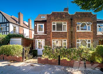 Thumbnail 4 bed semi-detached house to rent in Abbots Gardens, East Finchley