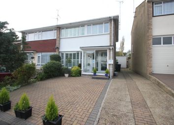 Thumbnail 3 bed semi-detached house for sale in Elizabeth Close, Hockley