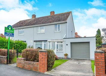 Thumbnail 3 bed semi-detached house for sale in Drummond Road, Kenton, Newcastle Upon Tyne
