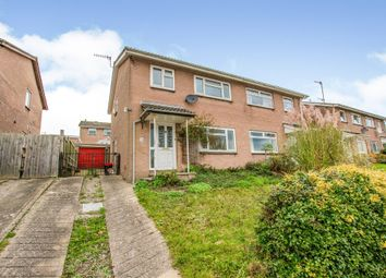 Thumbnail 3 bed semi-detached house for sale in Millbrook Court, Little Mill, Pontypool