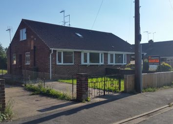 Thumbnail 4 bed semi-detached bungalow to rent in Scrubwood Lane, Beverley