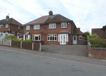 Thumbnail 3 bed semi-detached house for sale in Moorland Road, Biddulph, Staffordshire