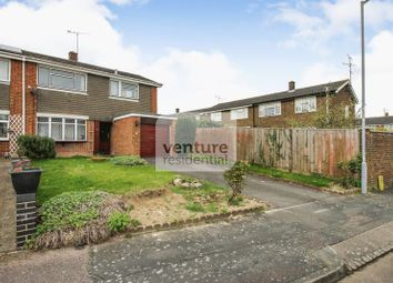 Thumbnail 3 bed semi-detached house for sale in Redgrave Gardens, Luton