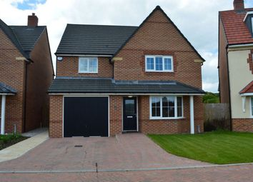 Thumbnail 4 bed detached house to rent in Hazel Way, Edleston, Nantwich