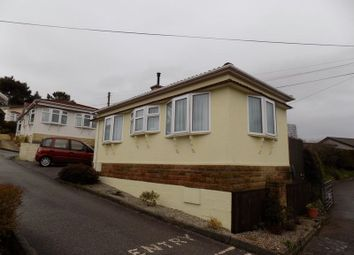 Thumbnail 1 bed mobile/park home for sale in Little Trelower Park, Trelowth, St Austell