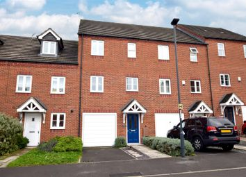 Thumbnail 3 bed terraced house for sale in Highfields Park Drive, Darley Abbey, Derby