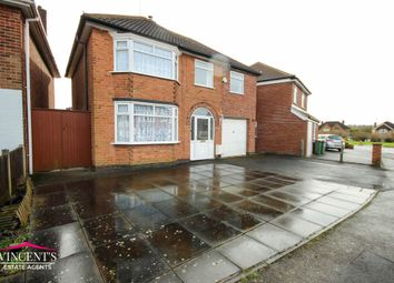 Thumbnail 4 bed detached house for sale in Fernhurst Road, Leicester