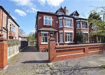 Thumbnail 5 bed semi-detached house for sale in Sandileigh Avenue, Didsbury, Manchester
