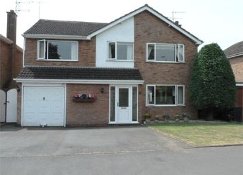 Thumbnail 4 bed detached house for sale in Holly Drive, Lutterworth