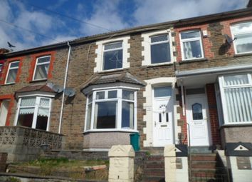 Thumbnail 3 bed terraced house to rent in Trealaw -, Tonypandy