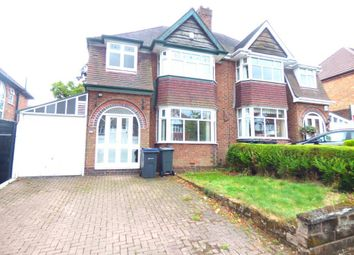 Thumbnail 3 bed semi-detached house to rent in Beverley Court Road, Quinton, Birmingham