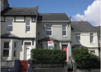 Thumbnail 1 bed terraced house to rent in Oakfield Terrace Road, Plymouth