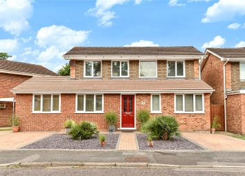 Thumbnail 4 bedroom detached house for sale in Coppice Gardens, Yateley, Hamphire