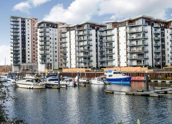 Thumbnail 3 bedroom flat for sale in Victoria Wharf, Watkiss Way, Cardiff