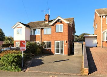 Thumbnail 4 bed semi-detached house for sale in Nethercroft Drive, Packington