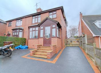 Thumbnail 3 bed semi-detached house for sale in Fowlers Lane, Light Oaks, Stoke-On-Trent