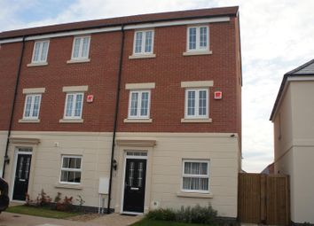 Thumbnail 4 bed town house for sale in Houghton Way, Birstall, Leicester