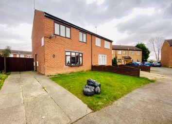 Thumbnail 3 bed semi-detached house for sale in Medlock Crescent, Spalding
