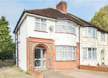 Thumbnail 3 bed semi-detached house for sale in Kingston Avenue, Sutton, Surrey