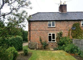Thumbnail 2 bed semi-detached house to rent in Worthington Lane, Woolsthorpe, Grantham