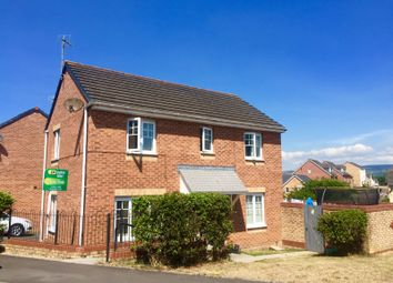 Thumbnail 3 bed detached house for sale in Long Meadow, North Cornelly, Bridgend