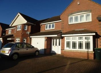 Thumbnail 4 bed property to rent in Aster Way, Walsall